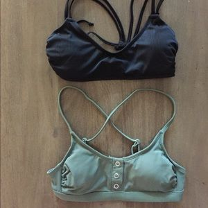 Two Target Bathing Suit Tops- Good Condition